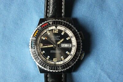 SICURA 25 JEWELS DIVERS  AUTOMATIC  WATCH