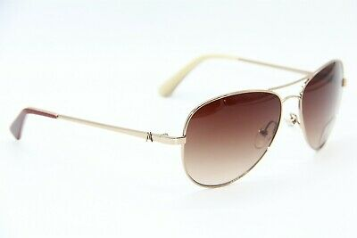 NEW GUESS BY MARCIANO GM 626 GDBE-34 GOLD TONE AUTHENTIC SUNGLASSES (Guess Sunglasses By Marciano)