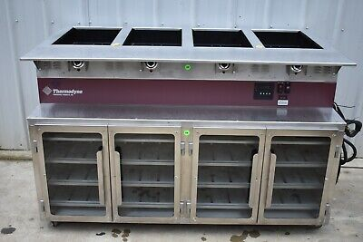 Thermodyne 744hw Cook Hold Oven With Dry Hot Food Well Steam Table