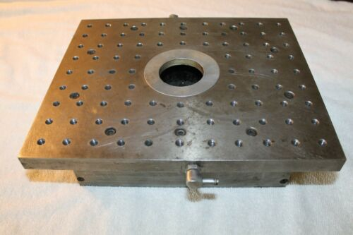 EDM Flush Table Chuck for Injection or Vacuum Flushing Work Piece Holding