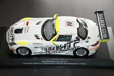 Mercedes-Benz SLS AMG GT3 - 24h Spa 2013 - Minichamps 1:18 - Ref. 151 133184