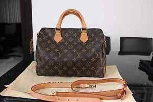 Authentic Louis Vuitton Speedy 30 b Bandouliere monogram bag Prestons Liverpool Area Preview