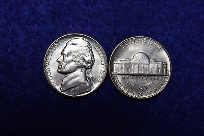 1954 D BU Jefferson Nickel From Original Roll