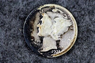 Estate Find 1921 - P Mercury Dime!!!!   #H2030