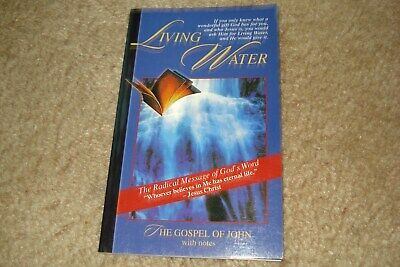 New Living Water The Gospel Of John Soft Cover Book ](Living Water Scripture)
