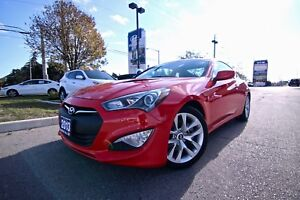 2013 Hyundai Genesis Coupe PREMIUM COUPE LEATHER AUTOMATIC ONLY
