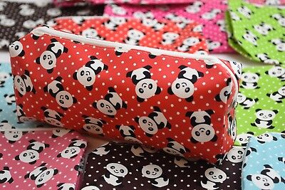 12 X PANDA PARTY FAVORS RED PINK GREEN BLUE POLKA DOTS RECUERDOS QUINCE BAUTIZO](Quince Party Favors)
