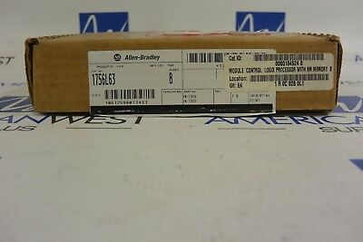 1756l63 Allen Bradley Controllogix Processor Ser B - Used