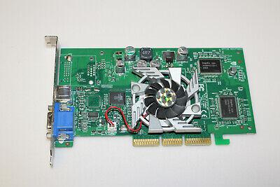 carte graphique AGP Nvidia GeForce4 GP7440T MX400 / 64Mb