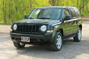 2011 Jeep Patriot Sport/North   4x4   ONLY 82K   CERTIFIED