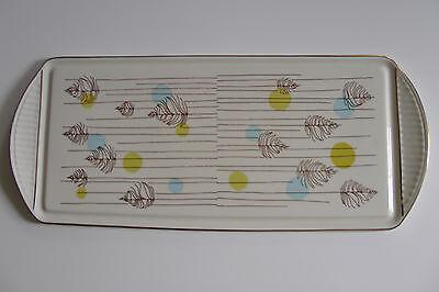 Kuchenplatte Stollenplatte Königskuchenplatte 60er 60s cake plate
