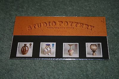 Royal Mail Presentation Pack 184 'Studio Pottery' 1987 MNH segunda mano  Embacar hacia Spain