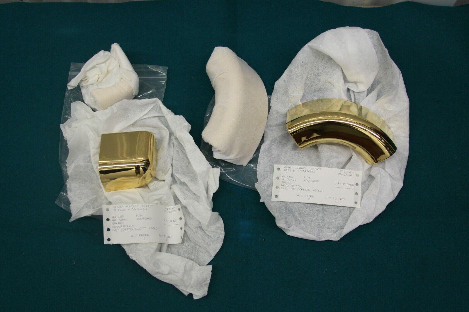 NOS Rowe AMI Jukebox CD Wall Berekley Gold Trim Set Complete