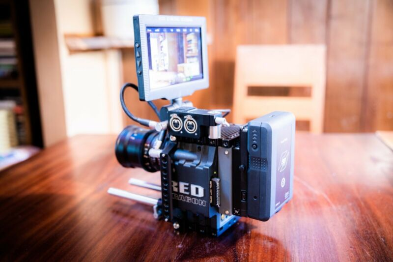 RED SCARLET DRAGON KIT - READY TO SHOOT - FREE SHIPPING