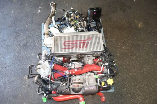 Jdm Subaru Impreza Wrx Sti Gdb V8 Ej207 Ej20 Dohc Avcs Turbo Engine Intercooler