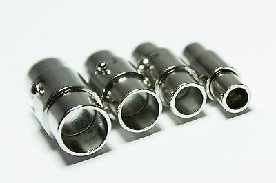 Edelstahl Magnet-Verschluss Bajonettverschluss Lederband-Armband-Verschluß