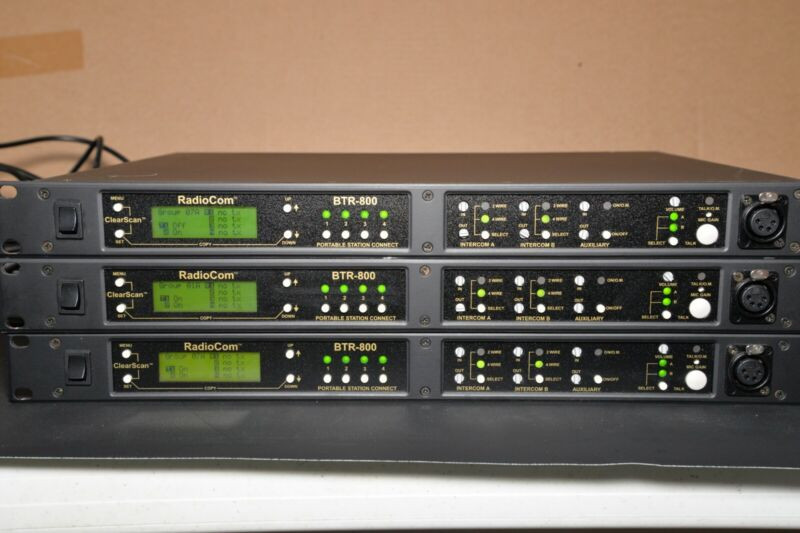 RadioCom BTR-800 Intercom System **Great Condition** (2) Left