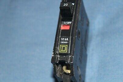 Square D 20 Amp 1 Pole FY14020 FY14020B I-Line