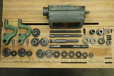13 South Bend Lathe Dual-tumbler Quick-change Gearbox Disassembledparts Lot