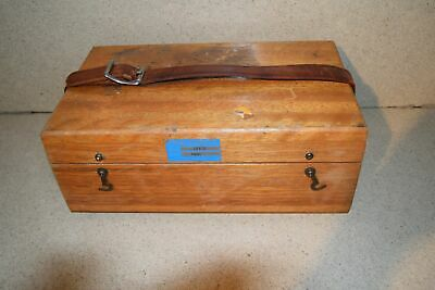Jm Brunson Instrument Corp Model 381-1 Storage Box D1