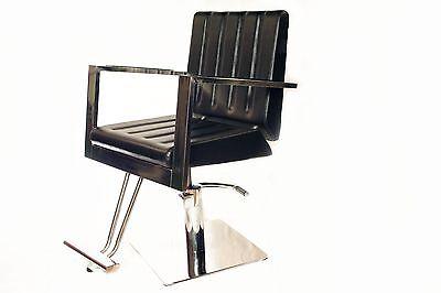 Black Hydraulic Barber Chair Styling Salon Beauty Equipme...