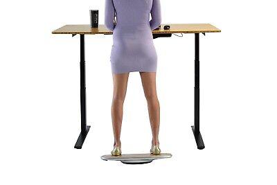 BASE best office standing desk balance wobble board active standing bamboo