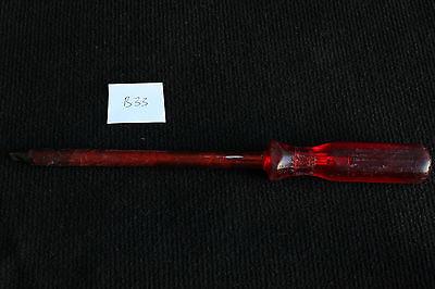 1x Belzer Schraubendreher No 5550 0,5x4,5x75  Einstellschraubendrehe F414