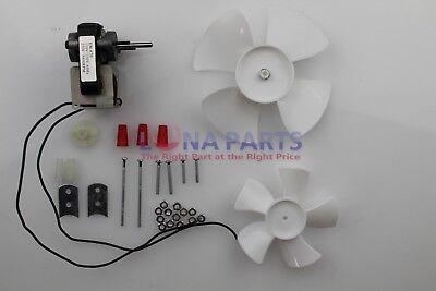Electric Fan Motor Kit w/Blower Wheels 1/4
