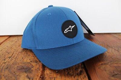 ALPINESTARS COVER SNAPBACK CAP BLUE NEU ASTARS  Cover Blue Snap