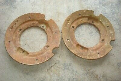 Oliver 1550 Tractor Rear Wheel Weights
