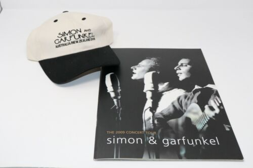 Simon and Garfunkel 2009 The Concert Tour Hat and Book