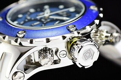 Invicta 52mm Subaqua Reserve Wild WOOD Ed. Blue Polished 500M Diver Chrono Watch