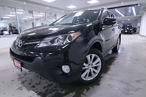 2015 Toyota RAV4 LIMITED AWD CLEAN CARPROOF, NON SMOKER, FULL SE