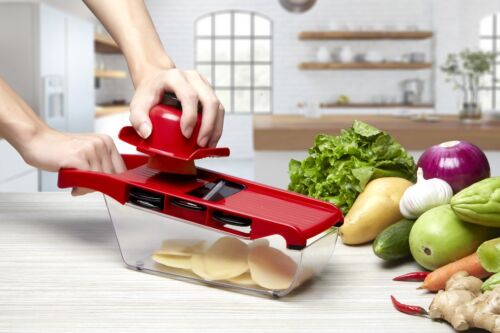 Mandoline Slicer Vegetable Food Cutter Friut Julienne Grate