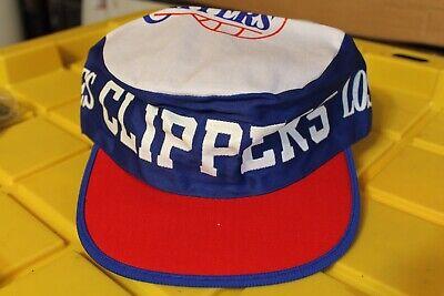 sale retailer e11c9 c13af Clippers Los Angeles Basketball 1980 s Rare Original Red White Blue USA Cap  Hat