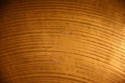 "Vintage 1960s Zildjian Istanbul K 16"" Crash!! Made in Turkey! EXCD!! on Rummage"
