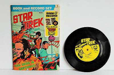 Vintage Star Trek The Crier in Emptiness Comic Book and Record Set #PR26 1975