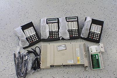 Avaya Lucent Partner Acs Business Phone System 4 Phones Refurbished