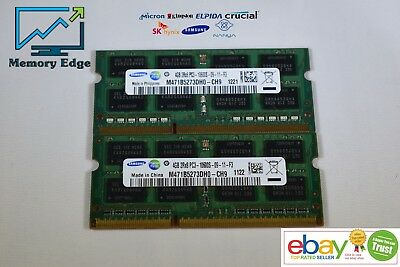 8GB KIT RAM for Apple MacBook Pro 13-inch (Late 2011) (2x4GB memory)(B8)