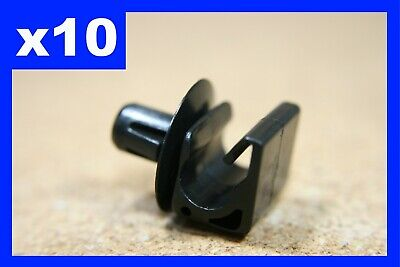 10 single brake pipe line cable holder routing clips