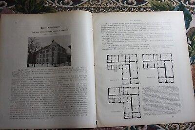1904 Fragment Zeitschrift Bergbau / Clausthal Hüttenmännisches Institut