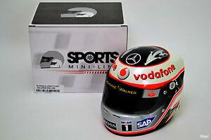 1/2 Scale Fernando Alonso McLaren Mercedes 2007 Helmet F1
