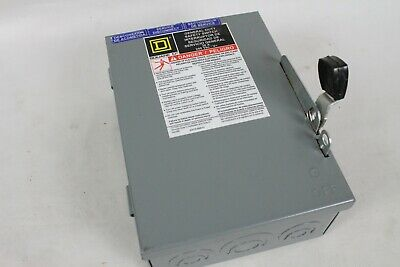 Square D General Duty Safety Switch D221n Fusible Electrical Part