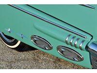 1956 1957 1958 1959 1960 Pontiac Chevy Impala Cruiser Fender Skirt Chrome Star