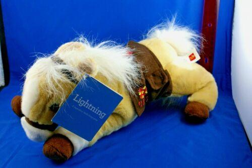 """Wells Fargo Legendary Pony """"Lightning"""" 14"""" Plush Horse 2010"""