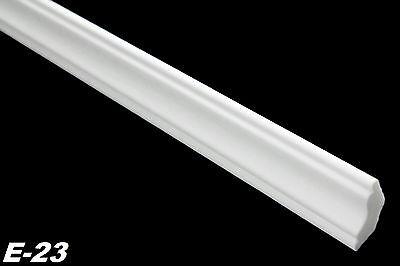20 Meter Eckprofile Styroporleisten Stuck Dekor hart 22x22mm, E-23