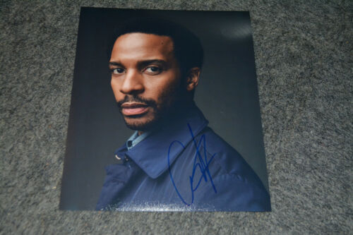 ANDRE HOLLAND signed Autogramm  In Person 20x25 cm CASTLE ROCK