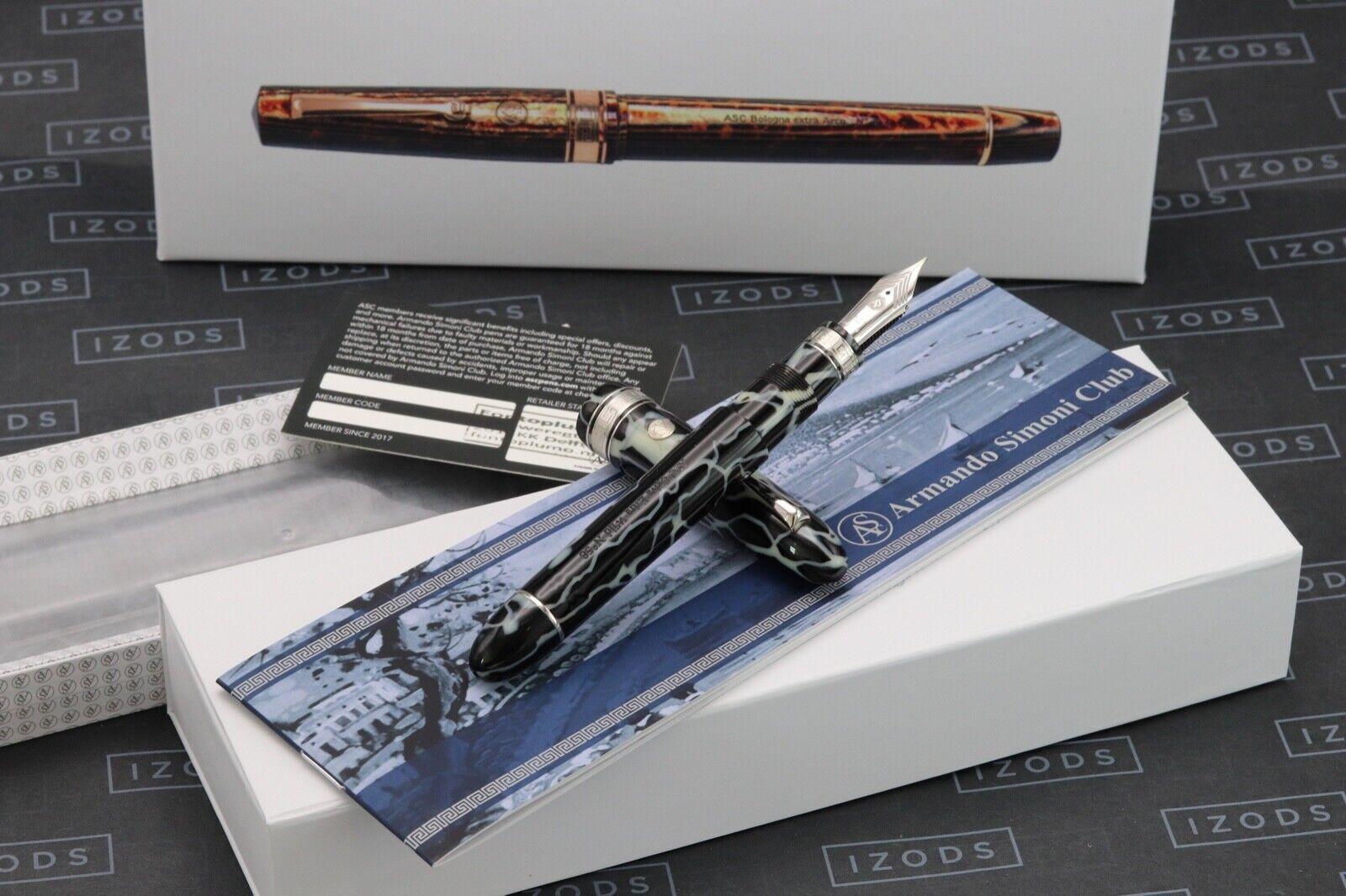 ASC Ogiva Extra Wild Celluloid Fountain Pen