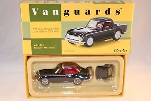 Vanguards-Corgi-VA11501-Triumph-TR4A-black-1-43-mint-in-box-scarce-model