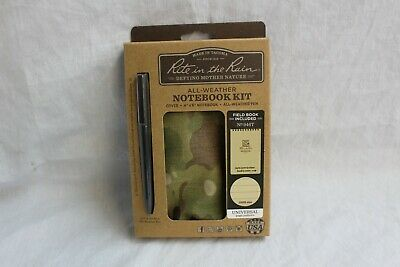 RITE IN THE RAIN 946M KIT ALL WEATHER 4X6 NOTEBOOK, PEN & CARRYING CASE MULTICAM